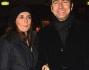 Marco Liorni, ex inviato del GF, con la moglie Giovanna Astolfi a teatro