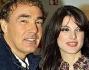 Massimo Giletti con la sua fidanzata Angela