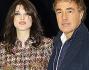 Massimo Giletti posa per i fotografi con la sua giovane Angela
