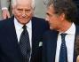 Massimo Giletti e Giampaolo Boniperti