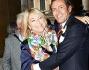 Rita Dalla Chiesa con lo sposo Filippo La Mantia