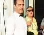 Matteo Viviani con Enzo iacchetti e Marco Lodola al party di nozze della Iena