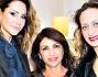 Simona Salvemini con Mimi Luzon e Evelyn Brocchi