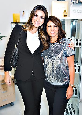 Alessia Ventura con Mimi Luzon