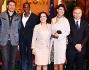 Patrizia Mirigliani, Francesca Testasecca, Aldo Montano, Annalisa Minetti, Fiona May ed Alessia Filippi alla presentazione di \'MIss Italia Sport\'