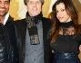 Susanna Petrone con Enrico Ricciardi ed Alessandro Baresi alla presentazione della nuova collezione Fall-winter 2014/15 di Joshua Fenu