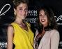 Claudia Andreatti e Francesca Testasecca alla presentazione della nuova collezione di G.Sel Milano