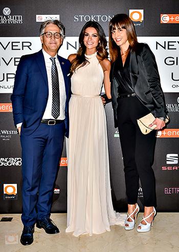 Roberto Zorzo con Alessia Ventura e Sonia