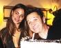 Nina Senicar ed Enzo Salvi con la torta