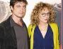 Riccardo Scamarcio e Valeria Golino alla premiere di 'Padri e Figlie' al Cinema Adriano di Roma