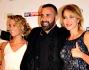 Tania Cagnotto, Luca Tomassini, Claudia Gerini