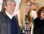 Federica Panicucci con i genitori
