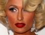 Paris Hilton forme generose come Marilyn Monroe