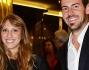 Nicole Berlusconi ed il fidanzato Santi alla festa per i 40 anni de 'Il Giornale'