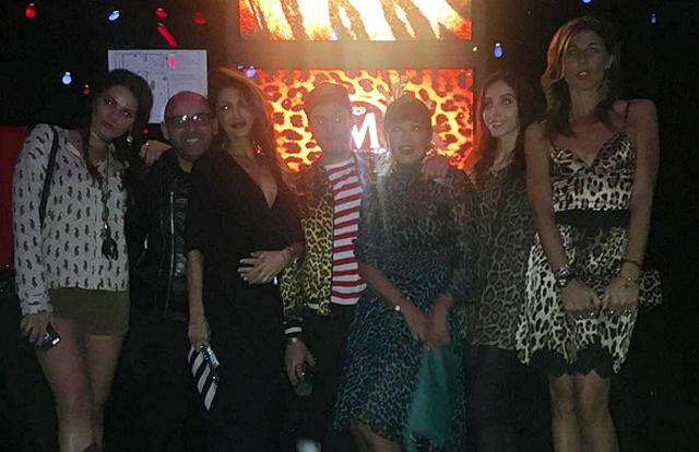 Cristina Buccino, Alessandra Grillo, Margot Ovani, Sergio Tavelli e Ana Laura Ribas