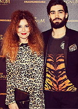 Il party Magnum � 'animalier'