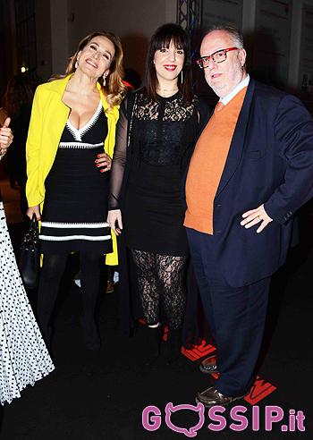 Barbara D'Urso con Edoardo Respelli e Viviana Fornaro