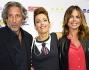 Paola Perego con Lucio Presta e Sonia Bruganelli