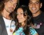 Valentina Gioia insieme a Mikael Kenta e Franklin Santana