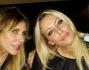 Guendalina Canessa e Karina Cascella con Daniele Signorini