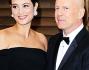 Bruce Willis ed Emma Heming al celebre party organizzato dal magazine Vanity Fair post Oscar