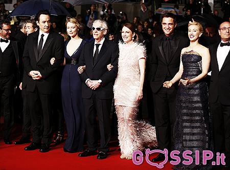 Il Cast Di Maps To The Stars Sul Red Carpet Di Cannes 67