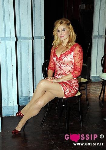 Patrizia Pellegrino Patrizia Pellegrino al Teatro Manzoni di Roma con lo
