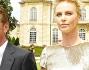 Tutti gli occhi puntati sulla coppia al loro arrivo a Parigi: Sean Penn e Charlize Theron