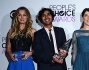 Il cast di The Big Bang Theory: Kaley Cuoco, Kunal Nayyar, Jim Parsons, Mayim Bialik