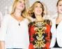 Veronica Maya, Anna Falchi e Sofia Bruscoli