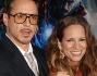 Robert Downey Jr con la moglie Susan alla premiere del supereroe ad Hollywood