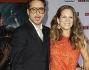 Robert Downey Jr con la moglie Susan sul red carpet di Iroman 3