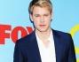Chord Overstreet sul red carpet di Glee