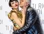 Susy Laude con il compagno Dino Abbrescia alla premiere di 'Ti ricordi di me?'