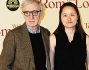 Woody Allen con la moglie Soon Yi a Roma per la prima di \'To Rome with love\'