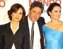 Penelope Cruz e Sergio Castellitto con Margaret Mazzantini nella Capitale per presentare 'Venuto al mondo'