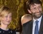 Alba Rohrwacher riceve il premio da Dario Franceschini