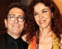 Paola Saluzzi con Pino Strabioli al \'Premio Simpatia 2011\'