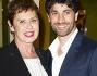 Corinne Clery ed Angelo Costabile alla prima di 'Buona Domenica' al Teatro della Cometa