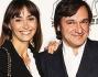 Benedetta Parodi e Fabio Caressa alla prima del musical 'La Febbre del Sabato Sera'