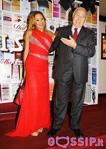 Pippo Baudo e Linda Batista