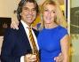 Roberto Alessi con la moglie nella boutique GB Enigma di Gianni Bulgari