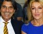 Rossano Rubicondi con Roberto Alessi e la moglie durante la serata di premiazione in Via Margutta