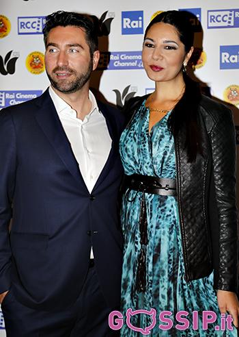 Elisa D'Ospina con il marito Andrea Alessandro Gentili