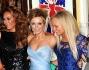 le Spice Girls si riuniscono a Londra: Melanie Brown, Emma Bunton, Melanie Chisholm  e Geri Halliwell