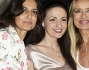 Rosita Celentano insieme a Gloria Guida e la scrittrice Patrizia de Santis