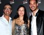 Luca Marin, Alehandro Cardia e Elena Parmegiani