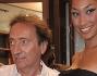 Amedeo Goria con l'amica Adele Israel