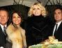 Il taglio della torta con Rita Rusic, Sergio Valente e Tosca D\'Aquino