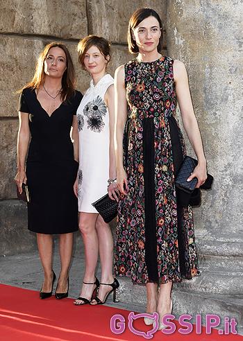 Anna Foglietta con Alba Rohrwacher e Maria Sole Tognazzi